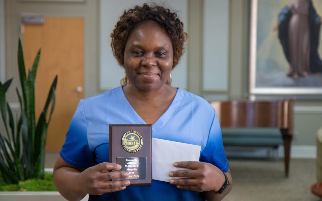 March Employee of the Month: Adele Makuete