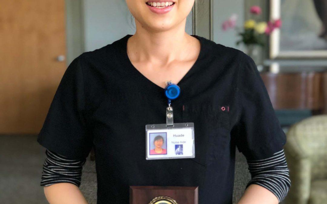 June Employee of the Month: Huade Zeng