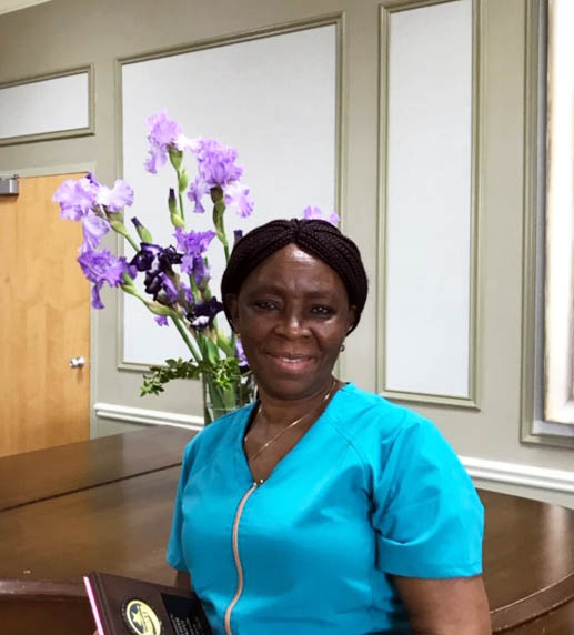 May Employee of the Month: Edith Kpui
