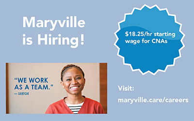 Maryville is Hiring CNAs